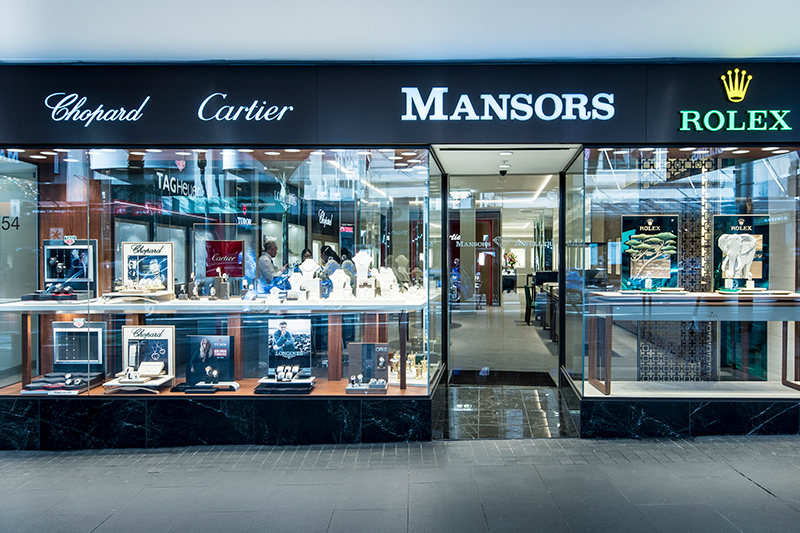 Mansors Jewellers Shop Fit Out
