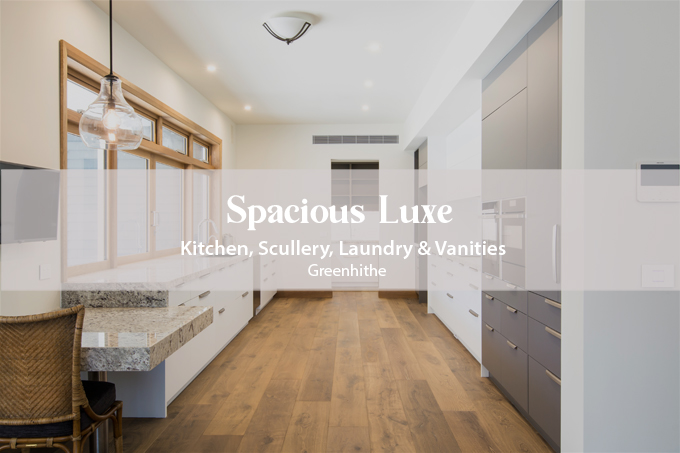 Kitchen, Scullery, Laundry and Vanities